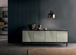Tonelli Psiche Glass TV Unit