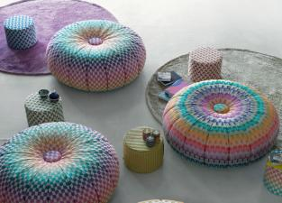 Missoni Home Puntaspillone Pouf