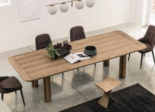 Porada Quadrifoglio Dining Table in Wood