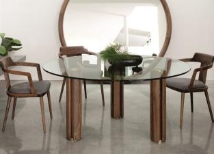 Porada Quadrifoglio Round Dining Table