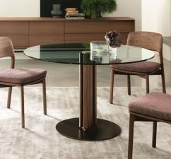 Porada Quadrifoglio Small Round Dining Table