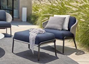 Manutti Radius Garden Footstool/Side Table