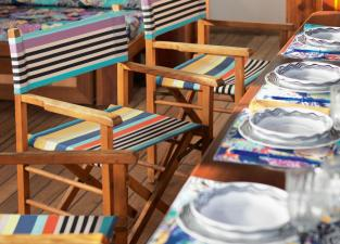 Missoni Home Regista Garden Chair