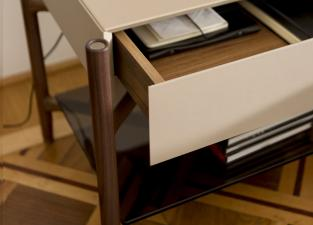 Porada Regent Bedside Table