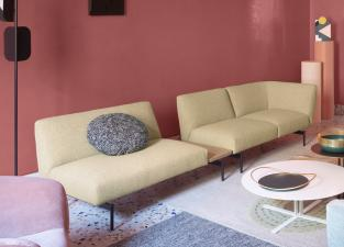 Saba Rendez-Vous Sofa with Side Table