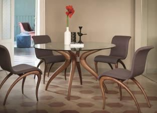 Porada Retro Round Dining Table