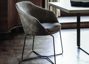 Vibieffe Ribbon Dining Armchair