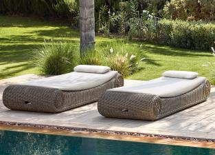 Manutti River Small Sun Lounger