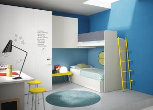 Battistella Nidi Children's Bedroom Composition 19