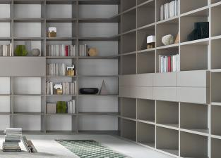 Lema Selecta 08 Bookcase/Wall Unit