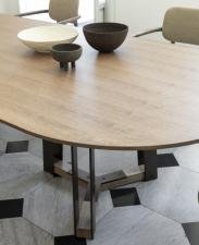 Porada Shibumi Oval Dining Table