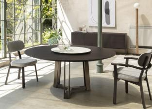 Porada Shibumi Round Dining Table
