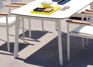 Emu Shine Garden Dining Table
