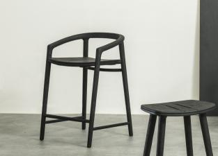 Manutti Solid Garden Bar Stool