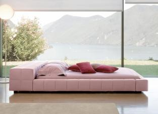 Bonaldo Squaring Isola Alta King Size Bed