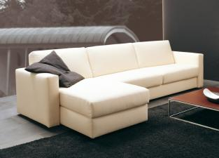 Vibieffe Squadroletto Sofa Bed with Chaise