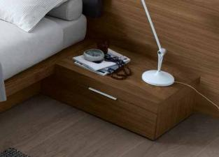 Jesse Stage Bedside Cabinet in Wood