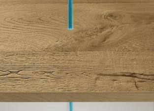 Tonelli Tavolante Aged Oak Dining Table