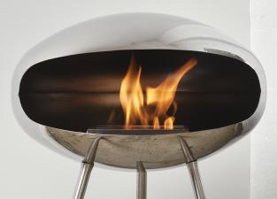 Cocoon Terra Fire - Polished Steel