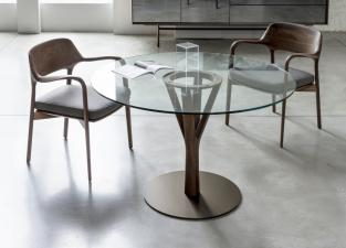 Porada Timber Round Dining Table