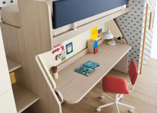 Battistella Tippy Bunk Bed and Desk