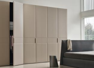 Jesse Trench Upholstered Wardrobe