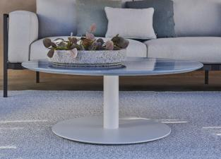 Tribu T-Table Round Coffee Table