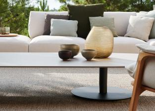 Tribu T-Table Oval Coffee Table