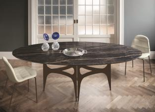 Bontempi Universe Oval Dining Table