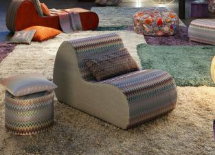 Missoni Home Virgola Armchair