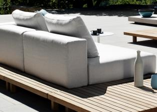 Tribu Vis A Vis Small Garden Sofa