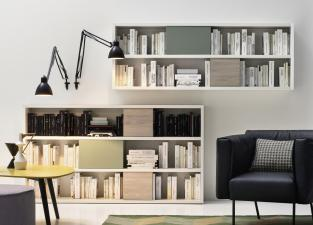 Novamobili Wall Unit/Bookcase 02