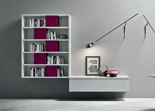 Novamobili Wall Unit/Bookcase 07