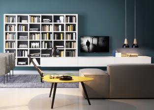 Novamobili Wall Unit/Bookcase 08