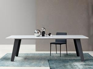 Bonaldo Welded Marble Dining Table