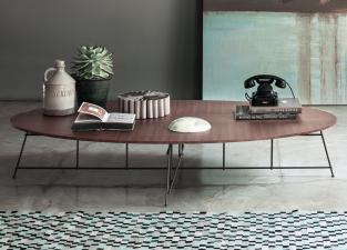 Lema Mr. Zheng Oval Coffee Table