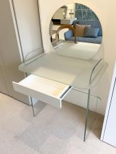 Tonelli Opalina Glass Dressing Table - clearance